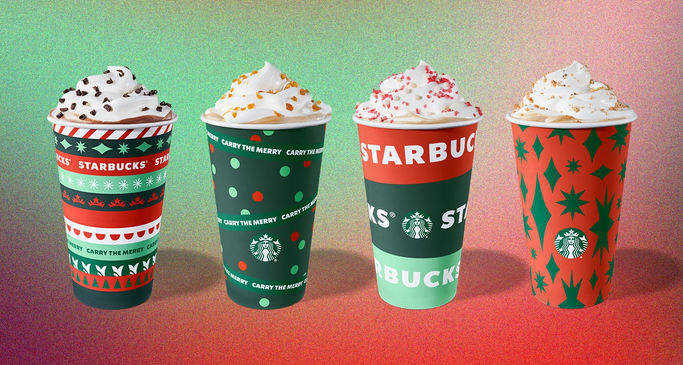 Starbucks Happy Hour returns: Here's how to get a free drink Thursday, including holiday beverages