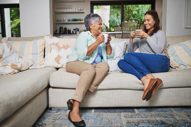 Visits from a family member or friend gives seniors something to look forward to and easily makes their day.