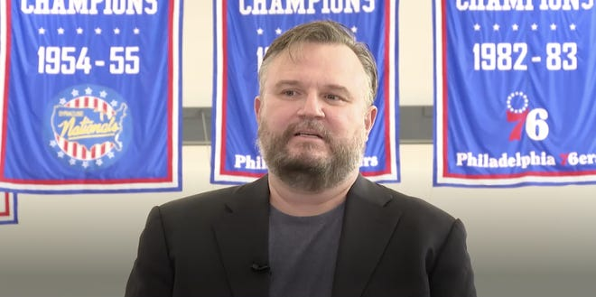 Daryl Morey jumped right into his job as the Sixers' president of basketball operations.
