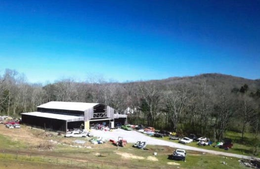 A private property on Glencoe Road in rural Culleoka has fallen under scrutiny by the Maury County Office of Building and Zoning for large number of inoperable vehicles scattered across the property.