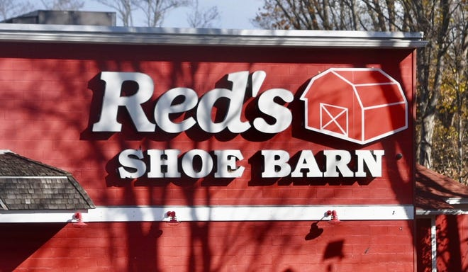 Red's Shoe Barn at 35 Broadway in Dover.