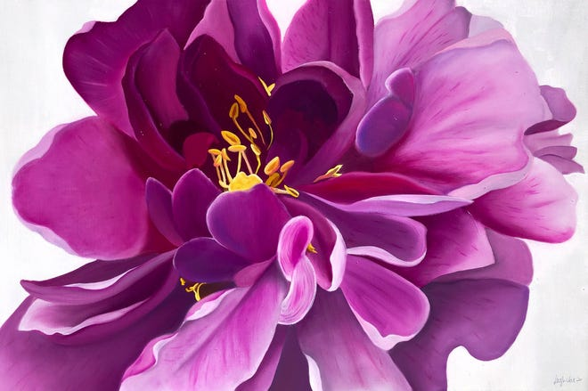 """""""Pink Peony,"""" by Whitney Morman."""