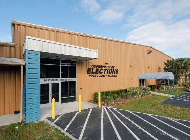 Polk County Supervisor of Elections office in Winter Haven.