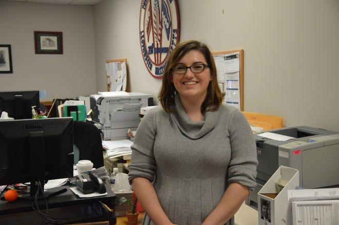 Leominster City Clerk Katelyn Huffman.