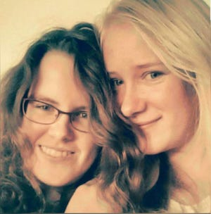 Monique Harmse, and her sister, Marleen.