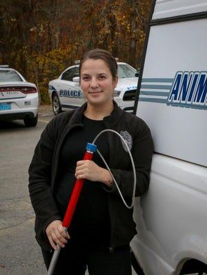 Tiverton Animal Control Officer Jennifer Stills.