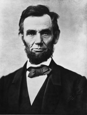 Abraham Lincoln was elected president in 1860 during a process in which he defeated three other presidential candidates.