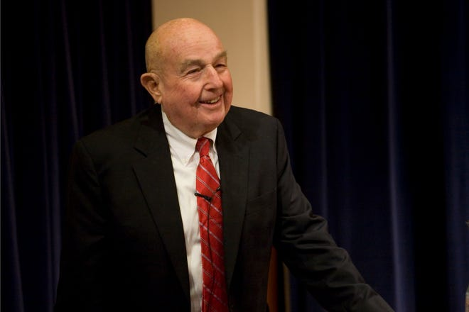 The columnist's father, L.W. Seidman, served as an economic advisor to President Gerald Ford and as Chairman of the FDIC under Presidents Reagan and Bush.