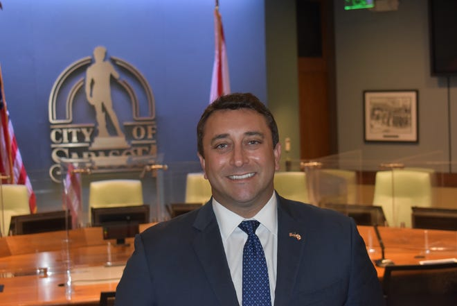 Commissioner Hagen Brody, elected in 2017, will serve as the city of Sarasota's ceremonial mayor.