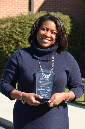 Eleanor Patrick, principal of Oaks Road Academy was named Principal of the Year for Craven County Schools. [CONTRIBUTED PHOTO]