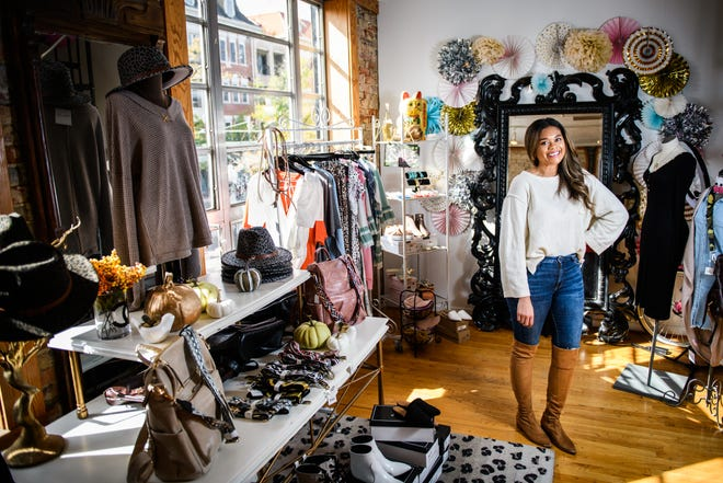 Samantha Thompson, who owns Fabulous Finds Boutique, turned to online orders and social media to boost sales after changing stores before COVID-19. She said that model has helped her business during the pandemic.
