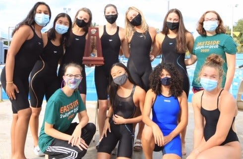 Eastside girls swim and dive team