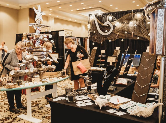 More than 75 vendors will have booths at Edgewater Beach Resort.