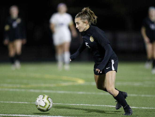 Hours after leading the Upper Arlington girls cross country team to a fourth-place finish in the Division I regional meet Oct. 31, freshman Aubrey Steiner scored a goal in the girls soccer team's upset of top-seeded New Albany in a Division I district final.