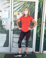 Polly Helm, a class teacher a class at Cocoa Beach Health and Fitness Center, received a heart transplant in 2014 that saved her life.