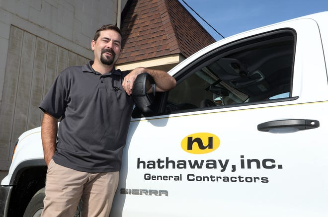 Dustin Klein is the vice president at Coshocton-based Hathaway Inc., one of Ohio's top construction companies.