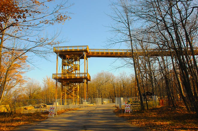 The new Eagle Tower in Peninsula State Park should be completed by the end of 2020 and, if all goes as planned, will open in the spring.