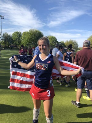 Christian Academy's Claudia Thomas, who has committed to Ohio State University, was named Kentucky's Miss Field Hockey.