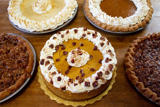 Black Shoe Bakery has a variety of pies ready for Thanksgiving.