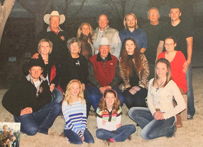 Thomas Mobley Jr., pictured here with family, center, died Monday, Nov. 2, 2020, from complications due to COVID-19. His funeral was held Friday, Nov. 6, at Getz Funeral Home in Las Cruces.