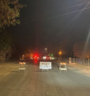Tulare County sheriff's detectives investigate a shooting in Orosi on Thursday, November 5, 2020.