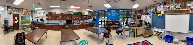 Derrick Gwinner's classroom