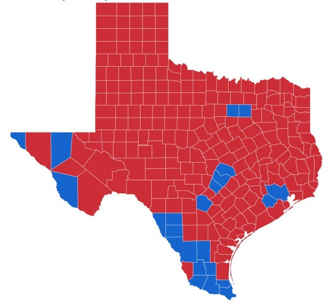 No Blue Wave Here Lubbock South Plains Stay Very Red