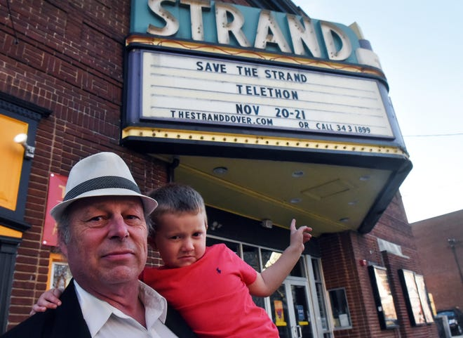 Dan Demers and his grandson Jacob Bigelow want to let people know that time is running out to save the Strand Theater and fundraising efforts are underway.
