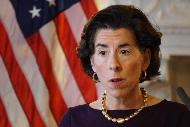 Gov. Gina Raimondo. With news that Joe Biden has won the presidency, speculation is beginning on whether Raimondo will be tapped for a job in his administration.