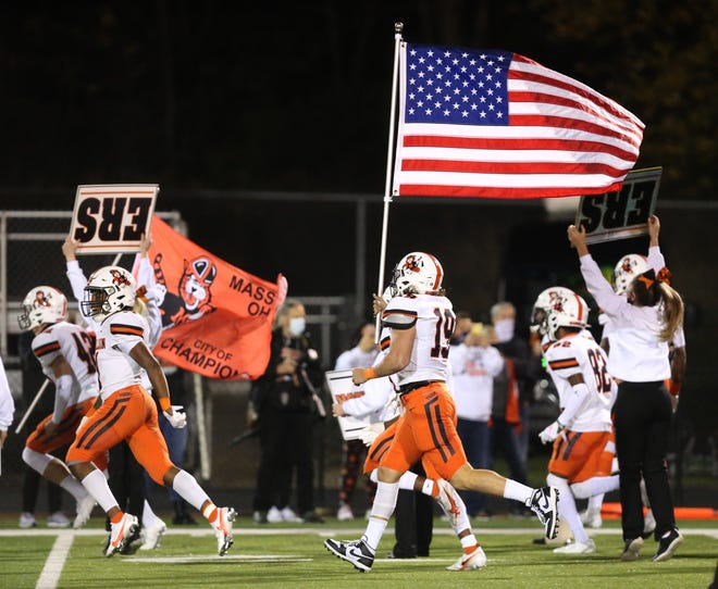 Massillon at Perry High School Football; DII Regional Final;  Friday, Nov. 6, 2020.