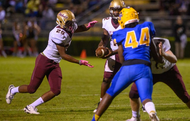 St. Augustine High, which cruised over Palatka in the regular season finale, plays host to Lynn Haven Mosley at 7:30 p.m. Friday.