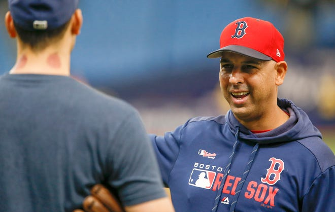 Alex Cora inherits a different Red Sox team that the one he left.