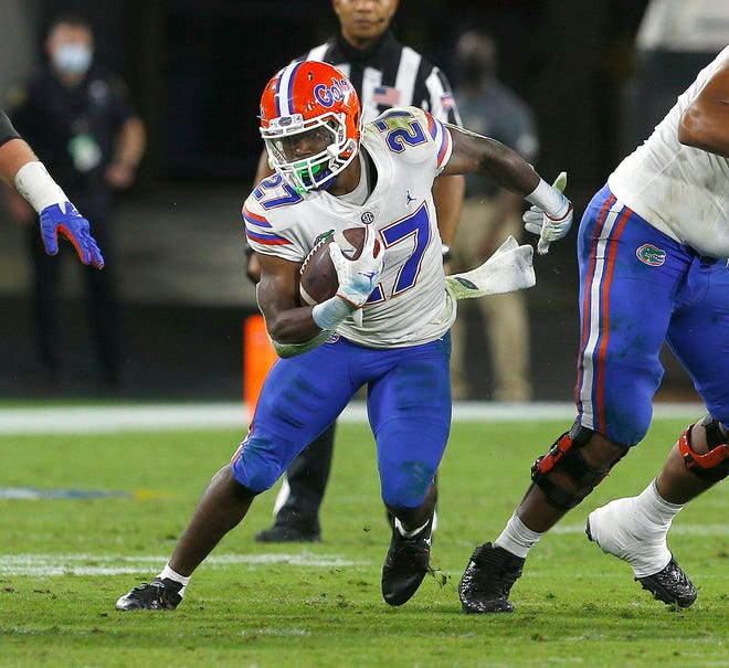 Dameon Pierce is one of just five returning starters for the Gators on offense.