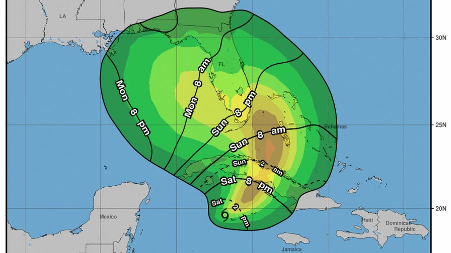 Eta restrengthens into a tropical storm; warnings issued for South Florida
