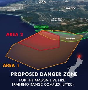 Comment period for Ritidian danger zone closes Monday