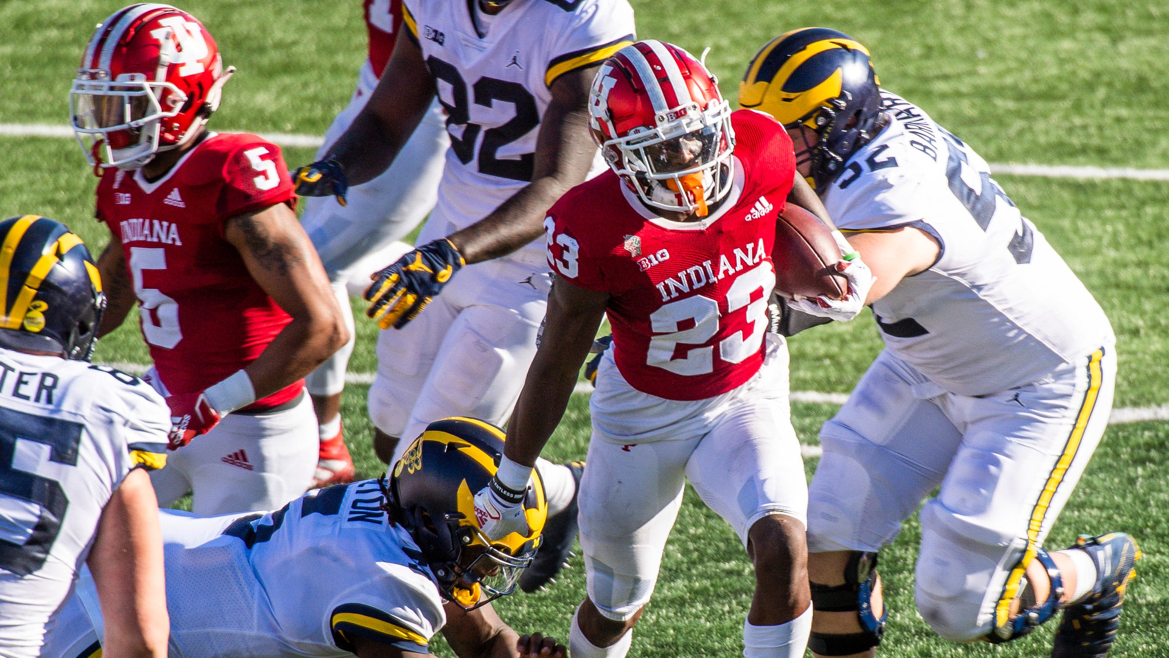 Indiana Football Jaylin Williams Went From Under The Radar Recruit To All Big Ten Cb Running fred is a game that was made by dedalord things about it is that you have to run away from a ghost. indiana football jaylin williams went