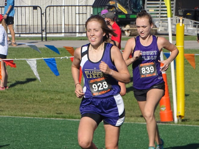 Millersport senior Emma DiYanni placed 14th at the state cross country championships at Fortress Obetz to earn All-Ohio honors.