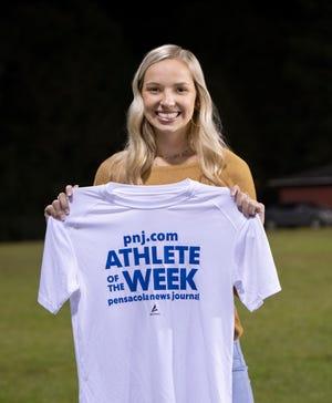 Athlete of the Week - Jay High School volleyball player Carsyn Seib - Friday, Nov. 7, 2020.
