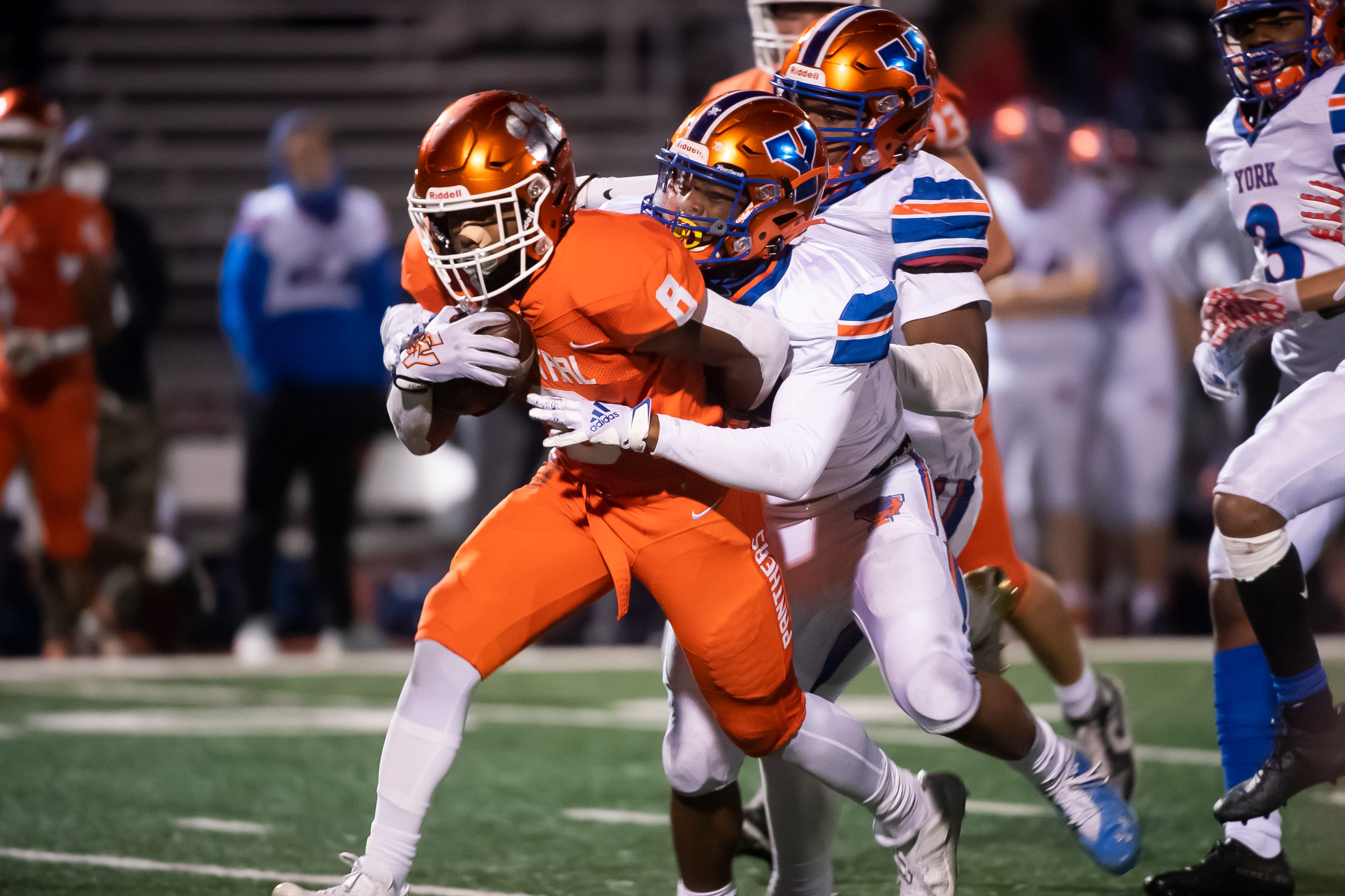 Piaa Football Central York To Face Delaware Valley In 6a Quarterfinals