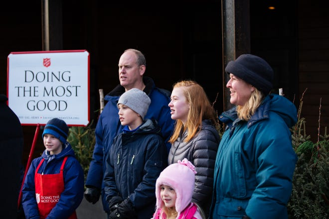 The Salvation Army kicked off the bell ringing season on Nov. 7 at Bass Pro Shop.