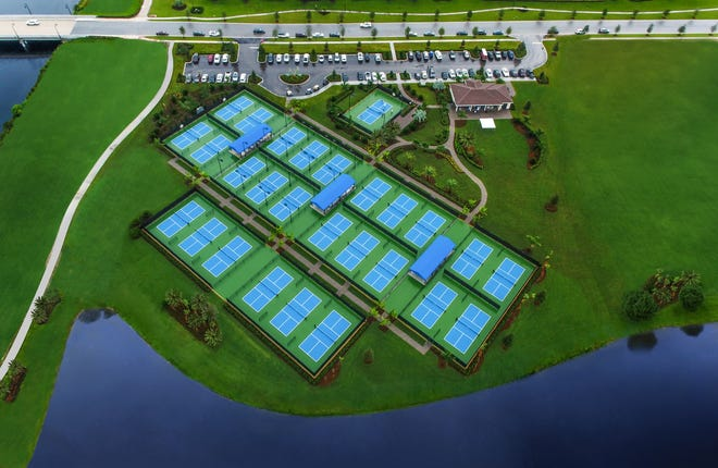 The sport of pickleball is so popular that new home communities like PGA Village Verano built complexes for residents to enjoy it year-round.