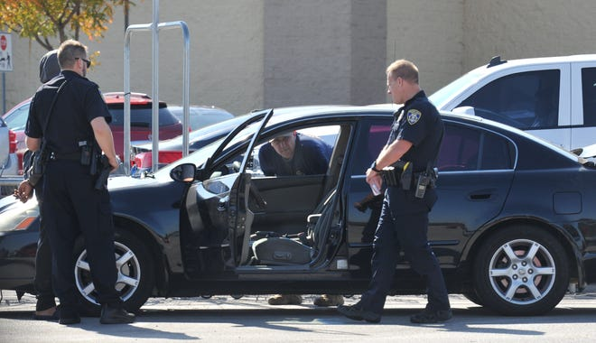 Wichita Falls Police investigated a vehicle possibly involved in a shooting.
