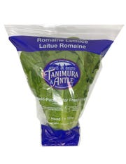 The single ends of some Tanimura & Antle romaine lettuce were part of the recall.
