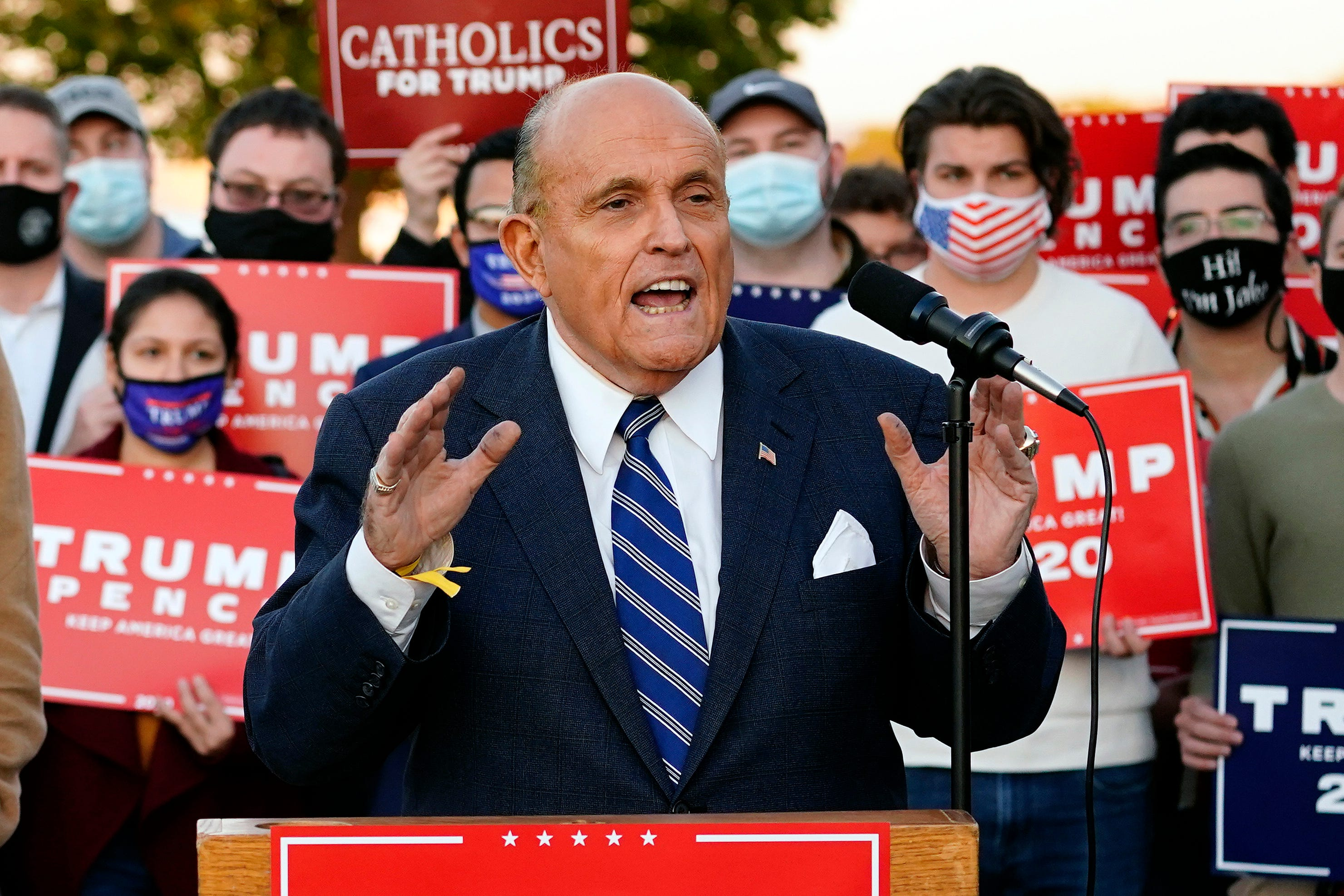 Politics live updates: Trump weighs joining Giuliani in Gettysburg to question election results – then cancels