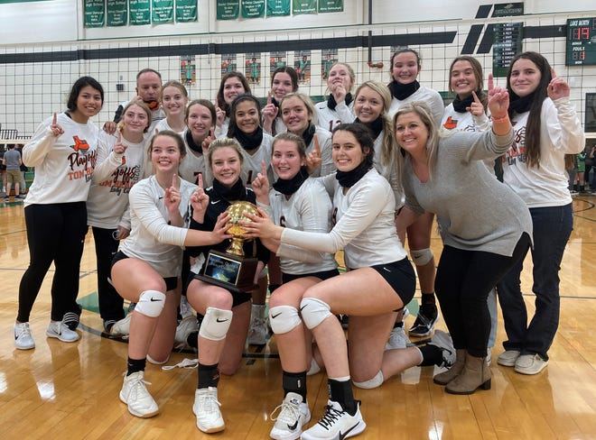 The Tom Bean volleyball team advanced to the region semifinals for the first time in program history with its third-round win over Rio Vista.