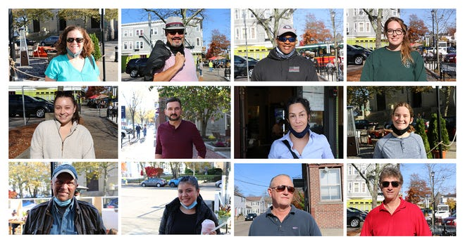 People strolling in downtown Newport on Saturday gave their thoughts on Joe Biden winning the White House.