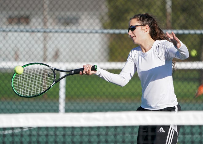 Liza Nunes and the Rogers girls tennis team were scheduled to host Scituate in a Division III semifinal match Saturday morning. If the Vikings won, they will play Classical for the Division III championship Saturday night at 6 p.m., at Pawtucket's Slater Park.