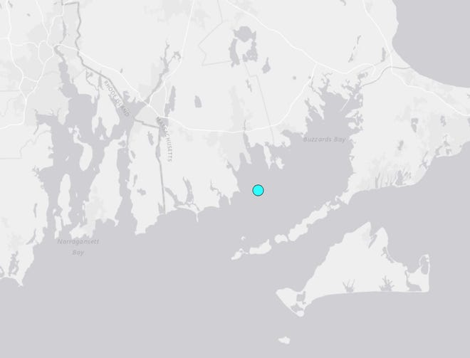 An earthquake — whose epicenter was off the coast of Southeastern Massachusetts — shook Southern New England on Sunday morning.