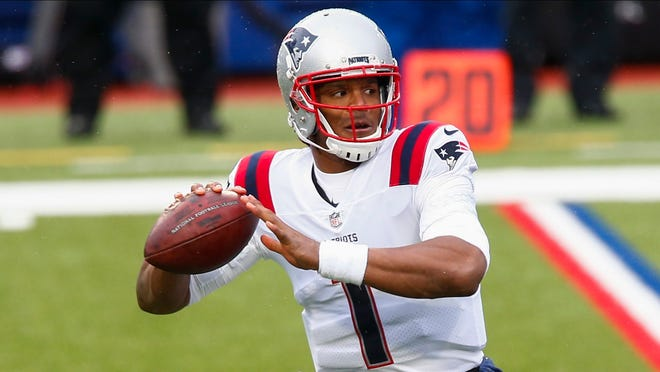 Quarterback Cam Newton leads the New England Patriots against the New York Jets on Monday night.