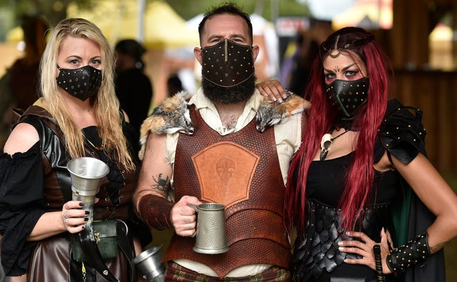 SunCoast Renaissance Festival, which debuted last weekend, continues each weekend in November at Sarasota Fairgrounds.